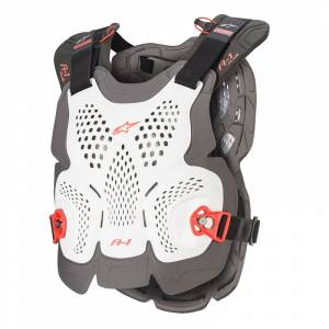 Alpinestars A-1 Plus White Anthracite Red Chest Protector