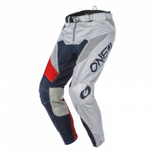 ONeal Airwear Freez Grey Blue Red Motocross Pants