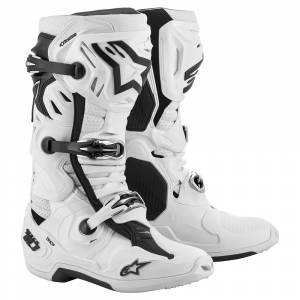 Alpinestars Tech 10 Supervented White Motocross Boots