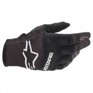 Alpinestars Techstar Black White Motocross Gloves
