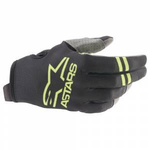 Alpinestars Radar Black Green Fluo Motocross Gloves