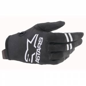 Alpinestars Kids Radar Black White Motocross Gloves