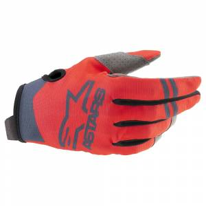 Alpinestars Radar Red Fluo Anthracite Motocross Gloves