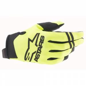 Alpinestars Radar Yellow Fluo Black Motocross Gloves