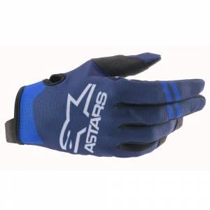 Alpinestars Radar Dark Blue Black Motocross Gloves