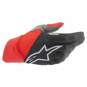 Alpinestars Dune Black Red Motocross Gloves