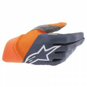 Alpinestars Dune Anthracite Orange White Motocross Gloves