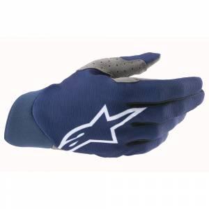 Alpinestars Dune Dark Blue White Motocross Gloves