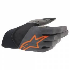 Alpinestars Dune Dark Grey Orange Motocross Gloves