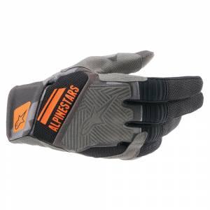 Alpinestars Venture R V2 Black Camo Orange Motocross Gloves