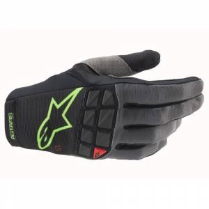 Alpinestars Racefend Black Green Fluo Motocross Gloves