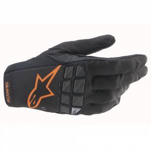 Alpinestars Racefend Black Orange Motocross Gloves
