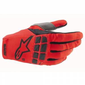 Alpinestars Racefend Bright Red Motocross Gloves