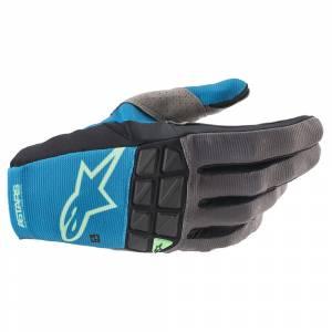 Alpinestars Racefend Ocean Blue Motocross Gloves