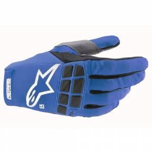 Alpinestars Racefend Blue White Motocross Gloves