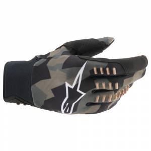 Alpinestars SMX-E Black Camo Sand Motocross Gloves