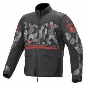 Alpinestars Venture R Grey Camo Red Fluo Enduro Jacket