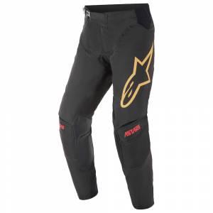 Alpinestars Techstar Venom Black Red Orange Motocross Pants