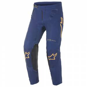 Alpinestars Supertech Foster Navy Orange Motocross Pants