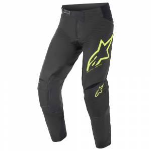 Alpinestars Techstar Factory Black Yellow Fluo Motocross Pants