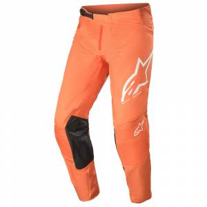 Alpinestars Techstar Factory Anthracite Orange White Motocross Pants