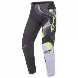 Alpinestars Racer Flagship Black Multicolour Motocross Pants