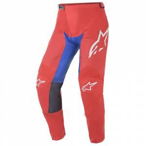 Alpinestars Racer Supermatic Red Blue White Motocross Pants