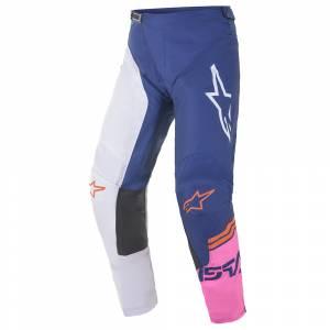 Alpinestars Racer Compass White Navy Pink Motocross Pants