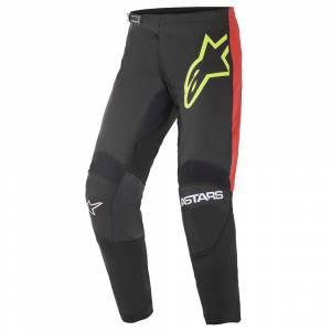 Alpinestars Fluid Tripple Black Yellow Red Motocross Pants
