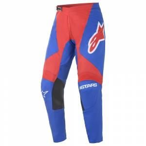Alpinestars Fluid Speed Blue Bright Red Motocross Pants