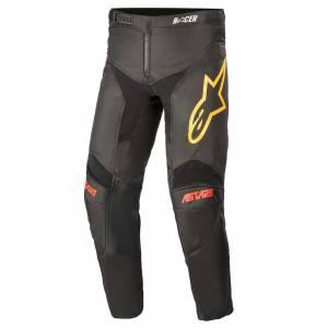 Alpinestars Kids Racer Venom Black Red Orange Motocross Pants