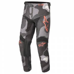 Alpinestars Kids Racer Tactical Grey Camo Red Motocross Pants