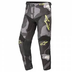 Alpinestars Kids Racer Tactical Grey Camo Yellow Motocross Pants