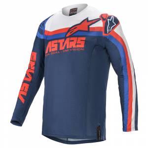 Alpinestars Techstar Venom Blue Red White Motocross Jersey