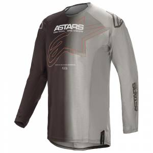 Alpinestars Techstar Phantom Anthracite Orange Motocross Jersey