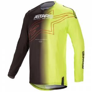 Alpinestars Techstar Phantom Black Yellow Motocross Jersey