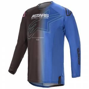 Alpinestars Techstar Phantom Black Blue Motocross Jersey