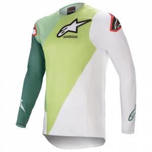 Alpinestars Supertech Blaze Green Dark Green Motocross Jersey