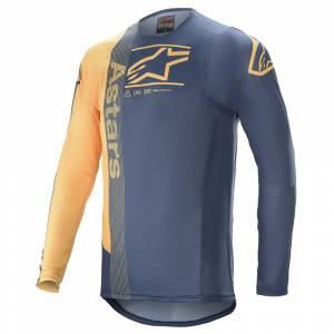 Alpinestars Supertech Foster Navy Orange Motocross Jersey