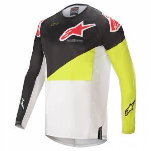 Alpinestars Techstar Factory Black Yellow White Motocross Jersey