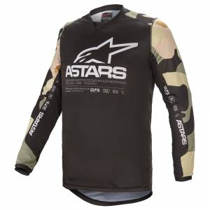 Alpinestars Racer Tactical Desert Camo White Motocross Jersey