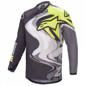 Alpinestars Racer Flagship Black Multicolour Motocross Jersey