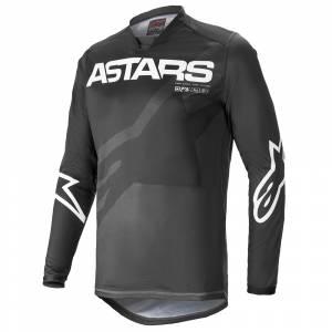 Alpinestars Racer Braap Black Anthracite White Motocross Jersey