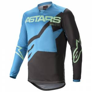 Alpinestars Racer Braap Ocean Blue Mint Motocross Jersey