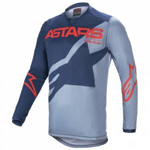 Alpinestars Racer Braap Black Blue Red Motocross Jersey