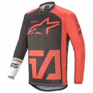 Alpinestars Racer Compass Anthracite Red White Motocross Jersey