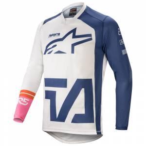 Alpinestars Racer Compass White Navy Pink Motocross Jersey