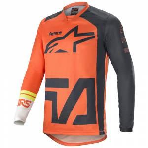 Alpinestars Racer Compass Orange Anthracite White Motocross Jersey