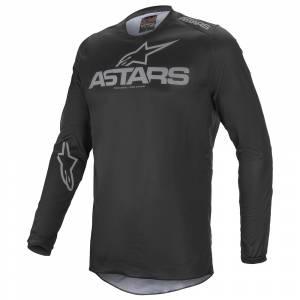 Alpinestars Fluid Graphite Black Grey Motocross Jersey