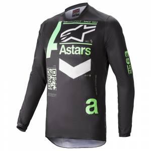Alpinestars Fluid Chaser Black Mint Motocross Jersey